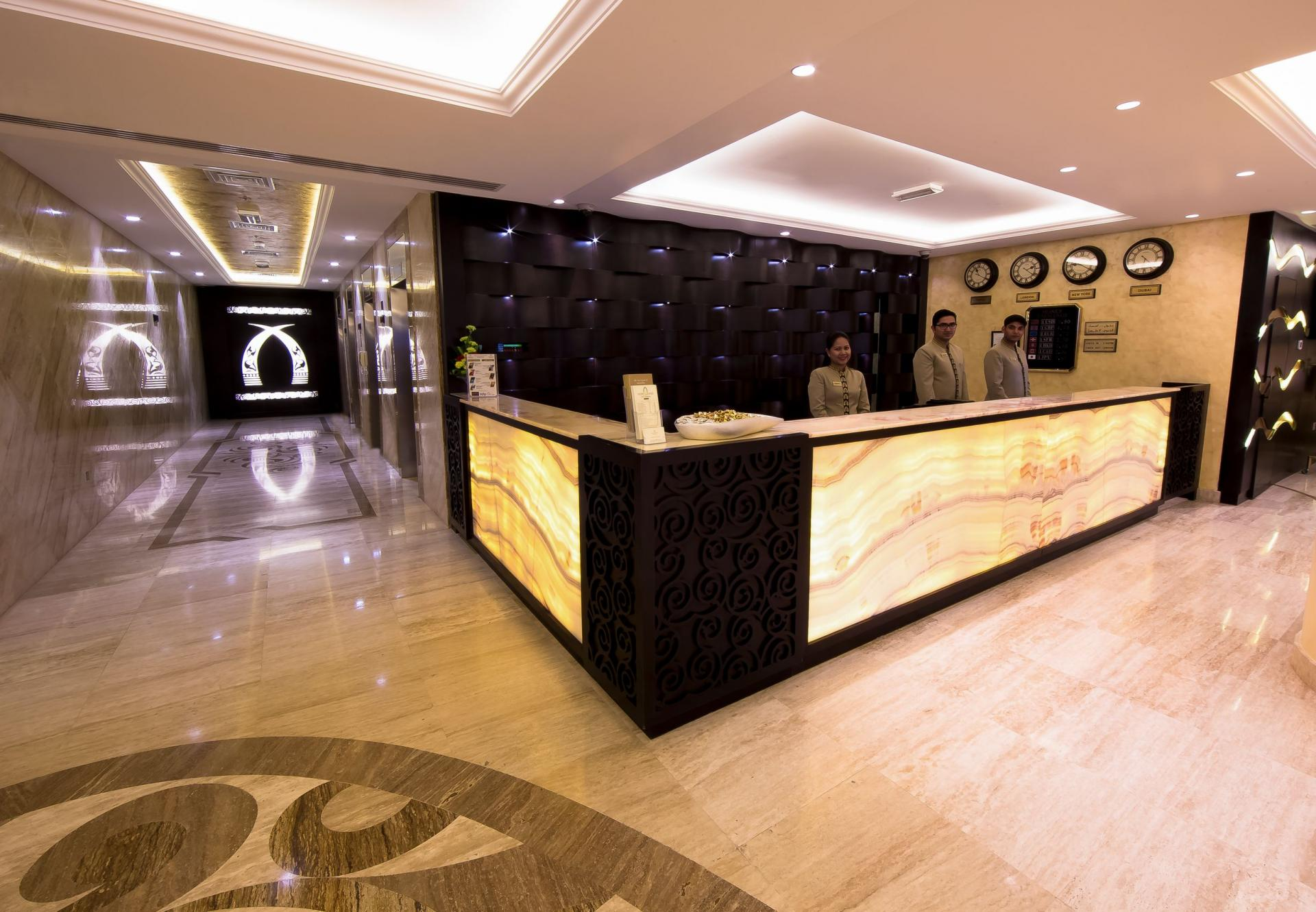 Lobby/ Front Desk at Ivory Grand Hotel Apartments - Citybase Apartments