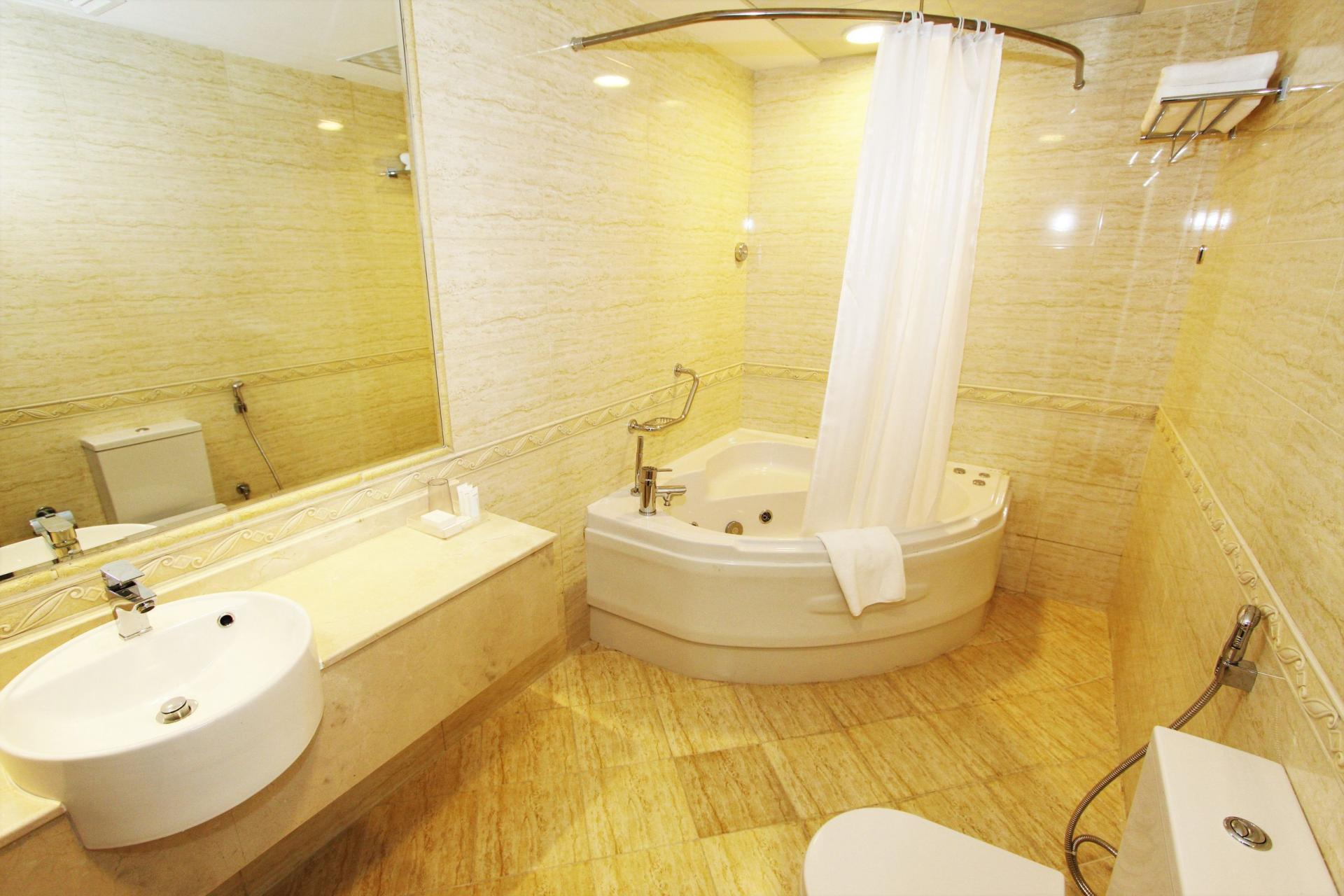 Bathroom at Ivory Grand Hotel Apartments - Citybase Apartments