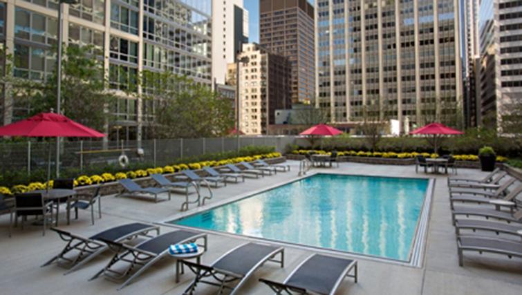 Pool at West Washington Street Apartments - Citybase Apartments