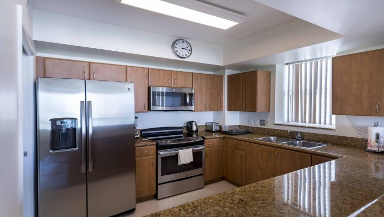 Kitchen at Dharma Home Suites Brickell - Citybase Apartments