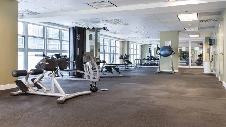 Gym at Dharma Home Suites Brickell - Citybase Apartments