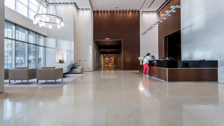 Reception at Dharma Home Suites Brickell - Citybase Apartments