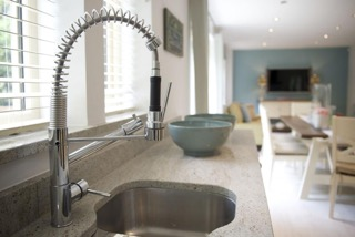 Sink at Skyline House Apartments - Citybase Apartments