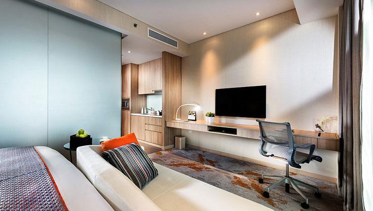 Studio premier at Fraser Changi City Singapore - Citybase Apartments