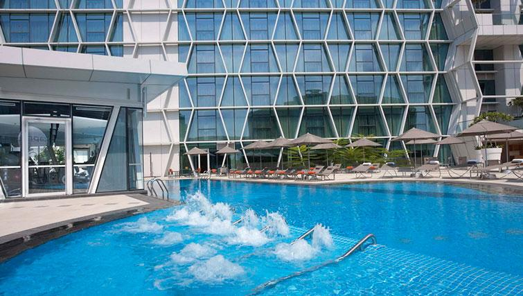 Pool at Fraser Changi City Singapore - Citybase Apartments