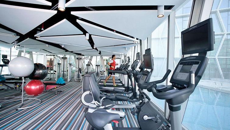 Gym at Fraser Changi City Singapore - Citybase Apartments