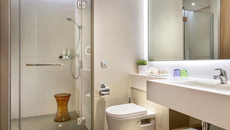 Bathroom at Fraser Changi City Singapore - Citybase Apartments