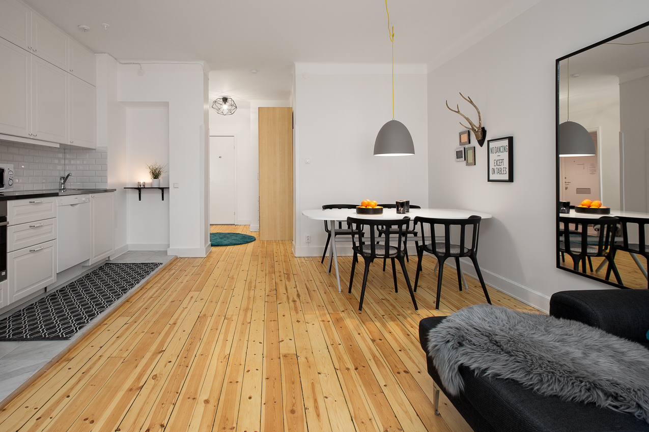 Living room at Renstiernas Gata Apartments - Citybase Apartments