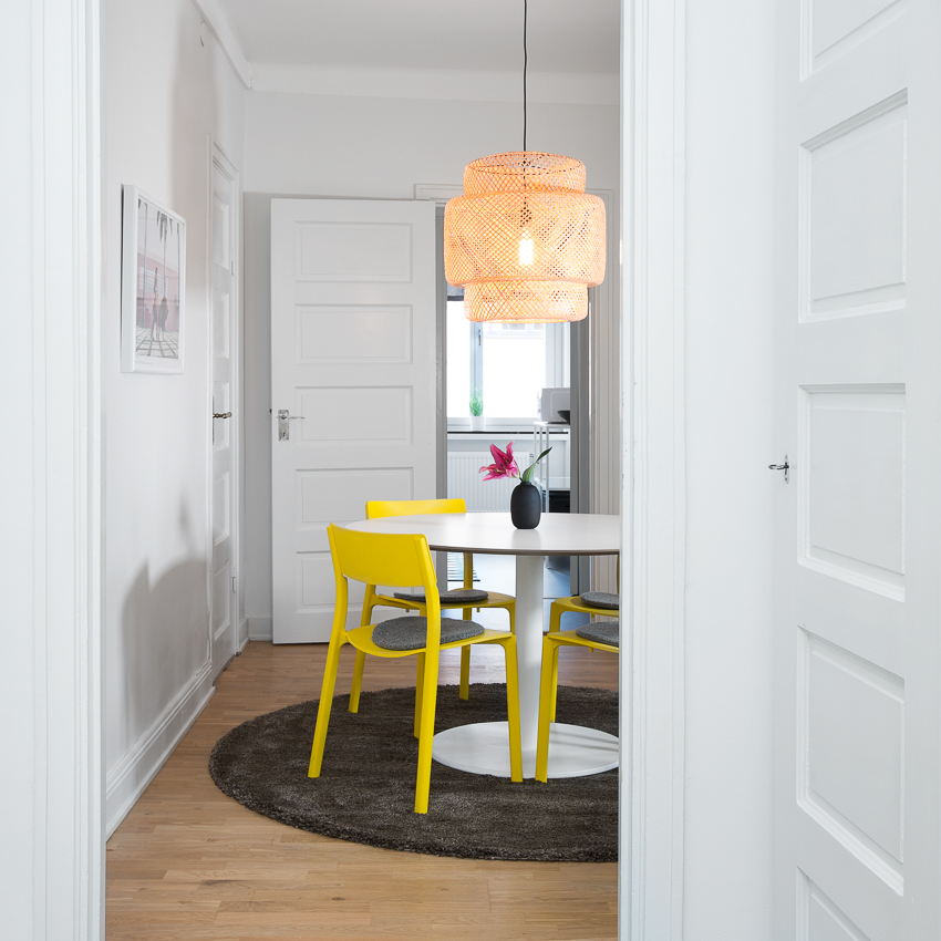 Chairs at Renstiernas Gata Apartments, Södermalm, Stockholm - Citybase Apartments