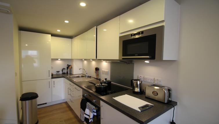 Kitchen at The Reside Apartments - Citybase Apartments