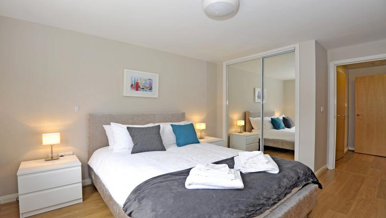 Bedroom at The Reside Apartments - Citybase Apartments