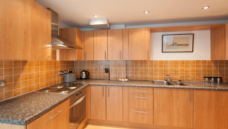 Kitchen at Pinnacle Apartments - Citybase Apartments