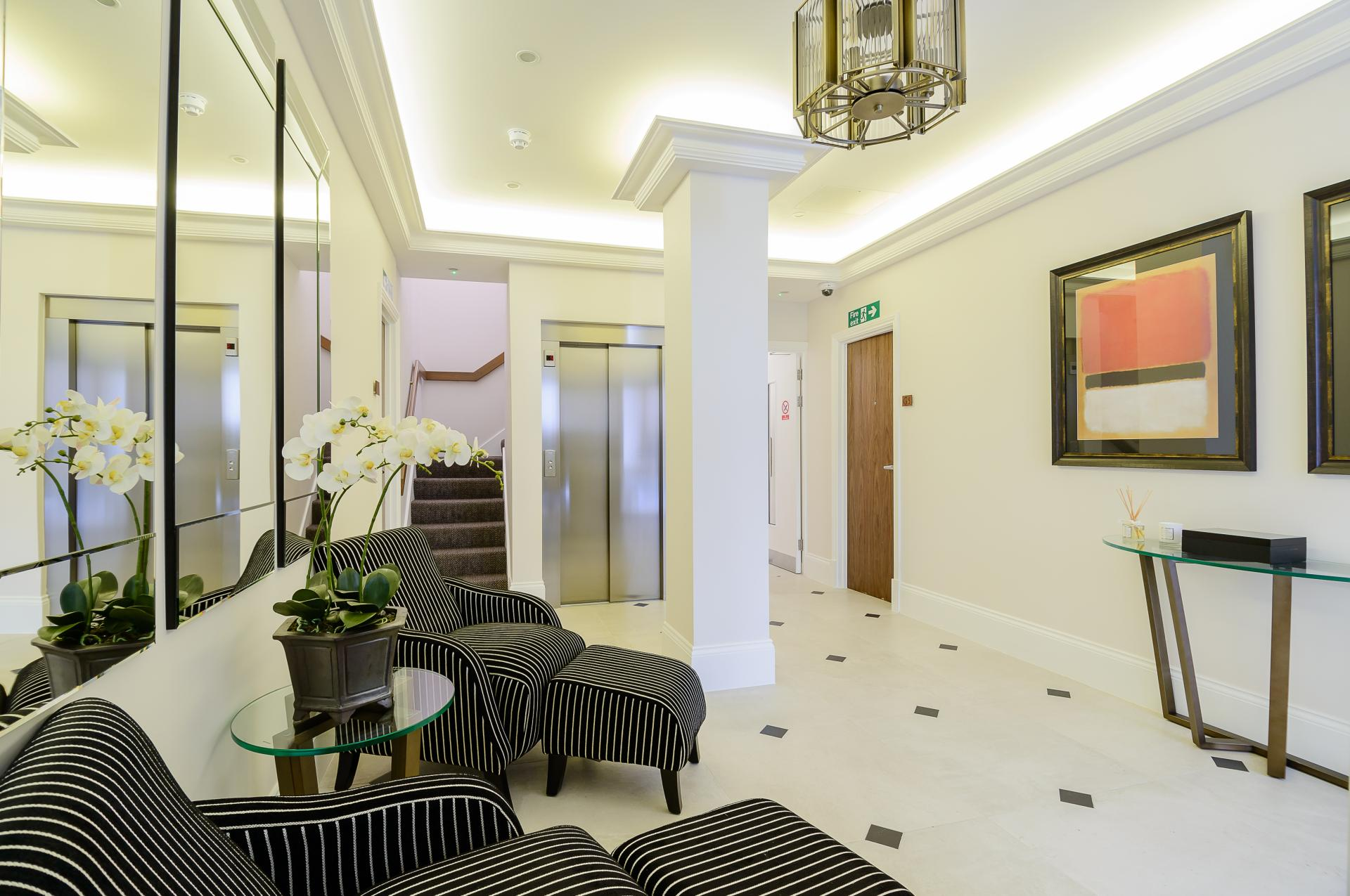 Entrance at LAK Serviced Apartments, Gloucester Road, London - Citybase Apartments