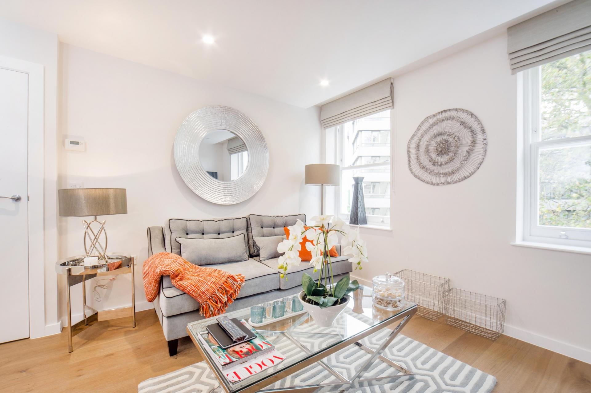 Orange at LAK Serviced Apartments, Gloucester Road, London - Citybase Apartments