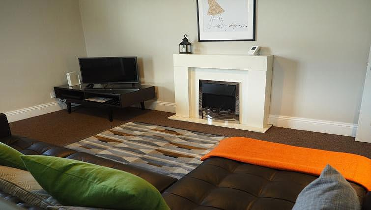 Living space at Raby Street Apartment - Citybase Apartments