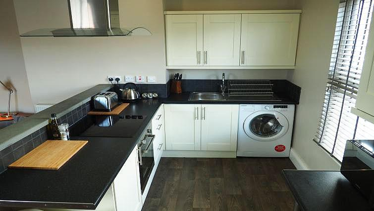 Kitchen at Raby Street Apartment - Citybase Apartments