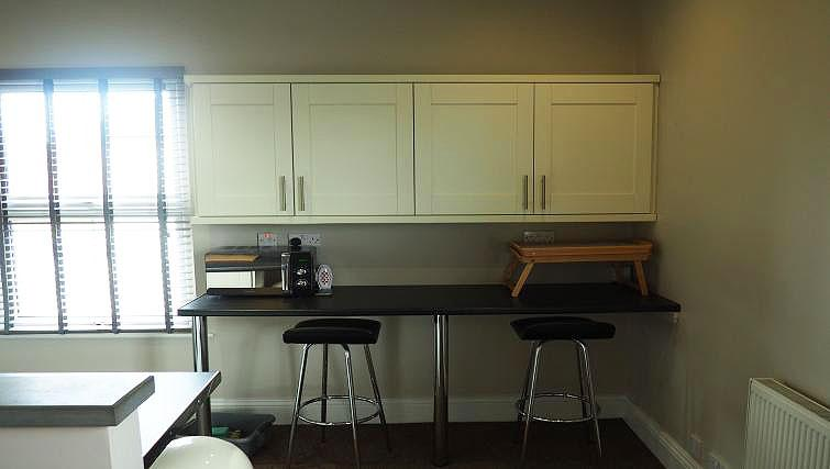 Kitchen area at Raby Street Apartment - Citybase Apartments