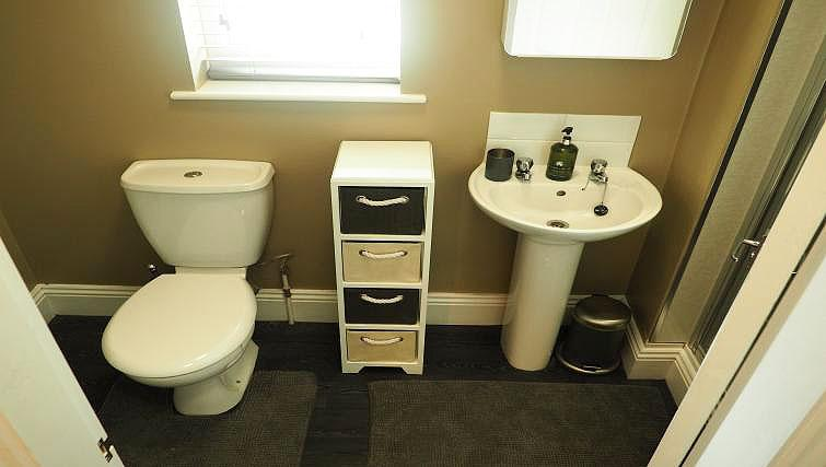Bathroom at Raby Street Apartment - Citybase Apartments