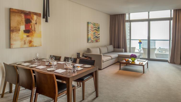 Table at InterContinental Dubai Marina - Citybase Apartments