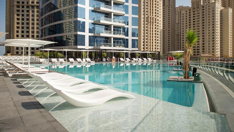 Pool at InterContinental Dubai Marina - Citybase Apartments