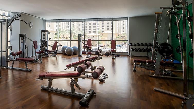 Fitness centre at InterContinental Dubai Marina - Citybase Apartments