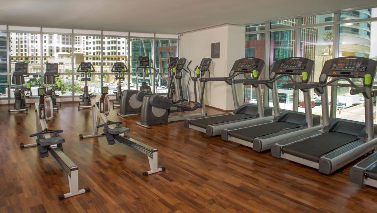 Gym at InterContinental Dubai Marina - Citybase Apartments