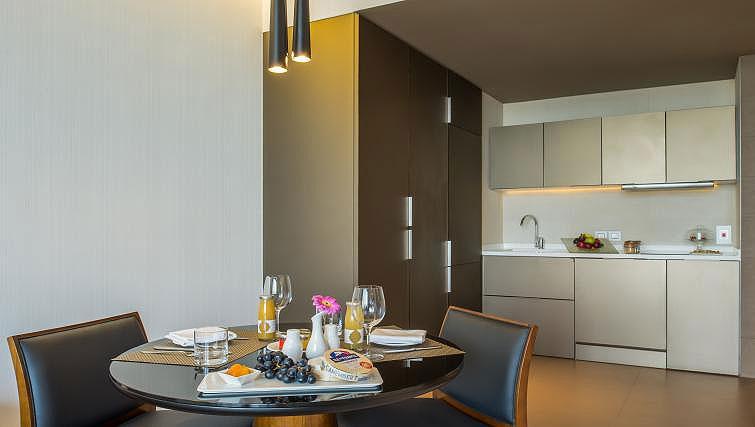 Kitchen at InterContinental Dubai Marina - Citybase Apartments