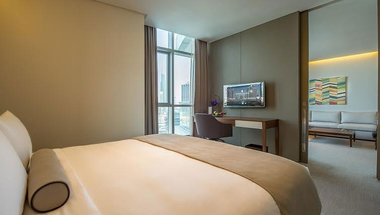 Bedroom at InterContinental Dubai Marina - Citybase Apartments