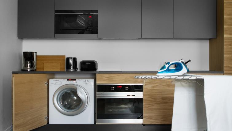 Kitchen at Stradonia Serviced Apartments - Citybase Apartments