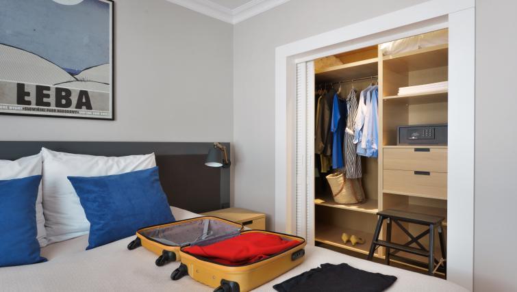 Bed at Stradonia Serviced Apartments - Citybase Apartments
