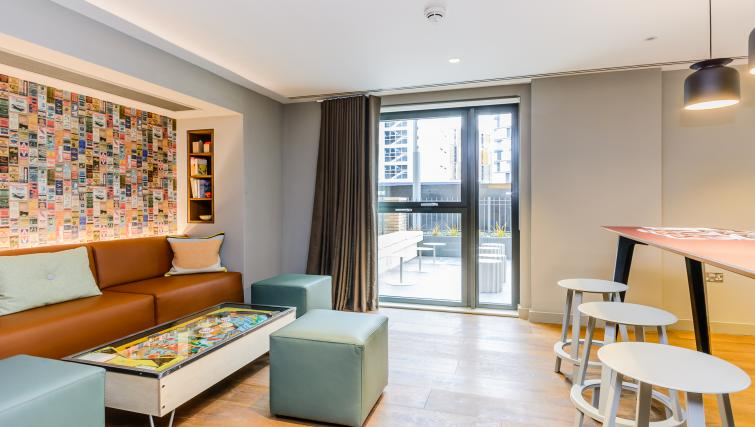 Modern living area at Wembley Apartments - Citybase Apartments