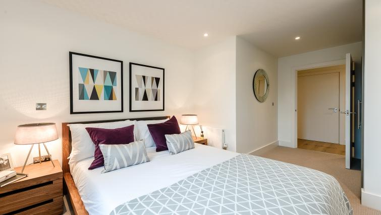 Double bedroom at Wembley Apartments - Citybase Apartments