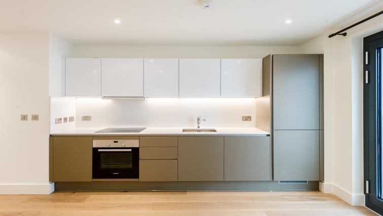 Modern kitchen at Wembley Apartments - Citybase Apartments