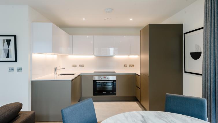 Dining area at Wembley Apartments - Citybase Apartments