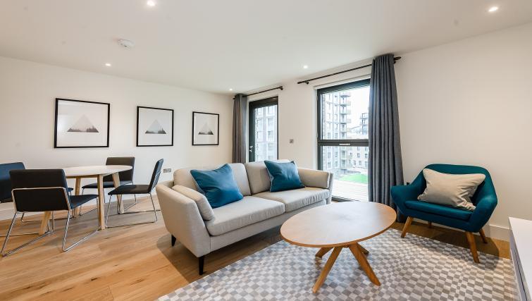 Sofa at Wembley Apartments - Citybase Apartments