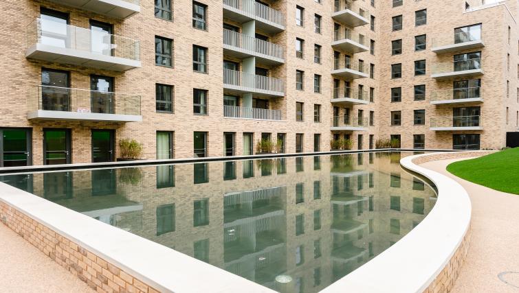 Exterior of Wembley Apartments - Citybase Apartments