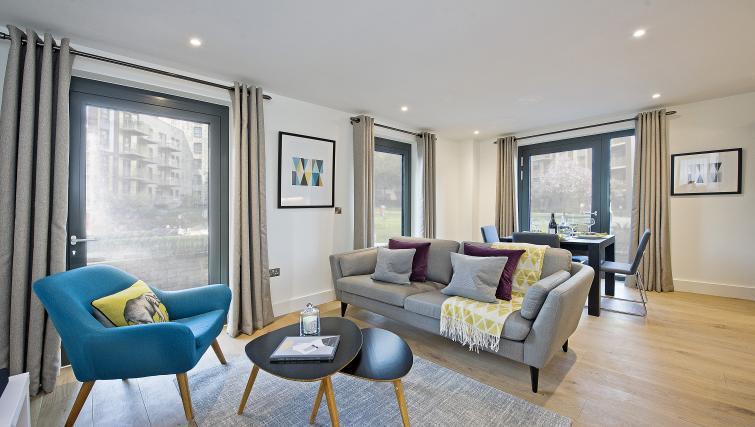 Living room at Wembley Apartments - Citybase Apartments