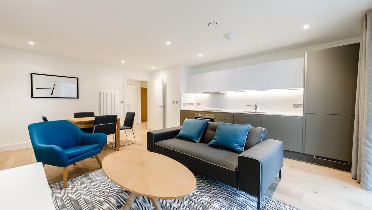 Kitchen at Wembley Apartments - Citybase Apartments