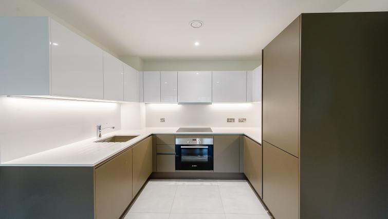 Equipped kitchen at Wembley Apartments - Citybase Apartments