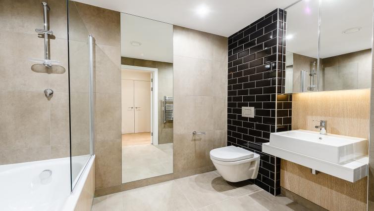 Bathroom at Wembley Apartments - Citybase Apartments