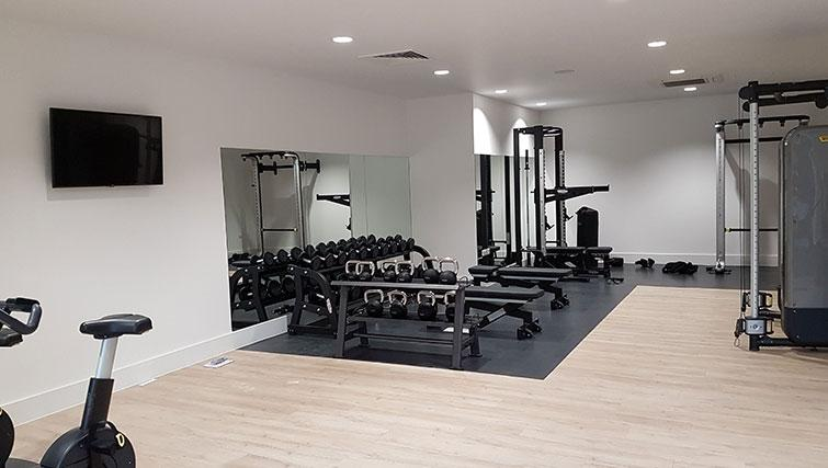 Gym equiptment at Wembley Apartments - Citybase Apartments
