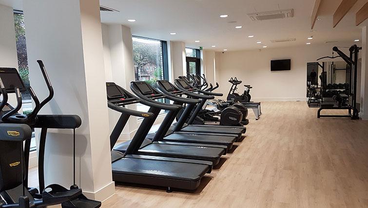 Gym at Wembley Apartments - Citybase Apartments