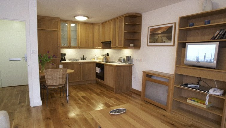 Modern kitchen at Presidential Marylebone Apartments - Citybase Apartments