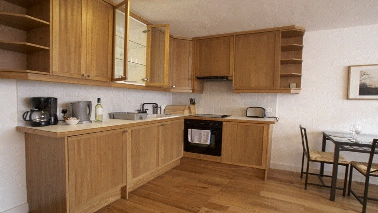Stately kitchen at Presidential Marylebone Apartments - Citybase Apartments