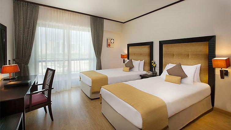 Twin bedroom at Park Hotel Apartments - Citybase Apartments
