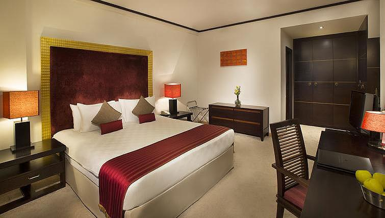 Bedroom at Park Hotel Apartments - Citybase Apartments