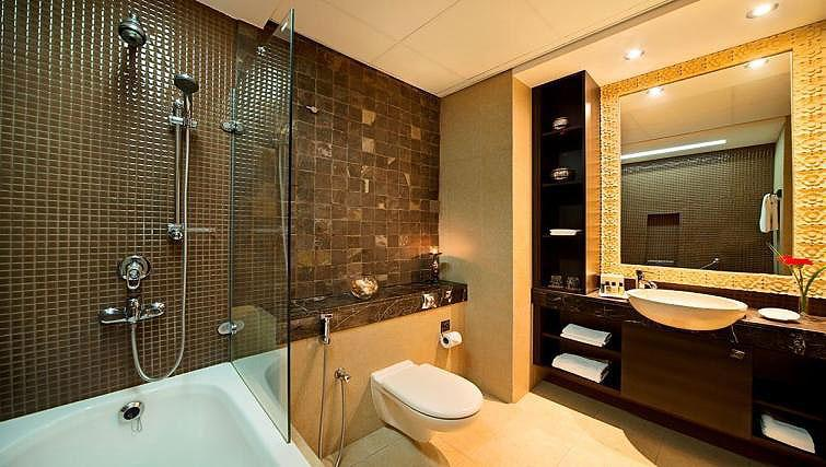 Bathroom at Park Hotel Apartments - Citybase Apartments