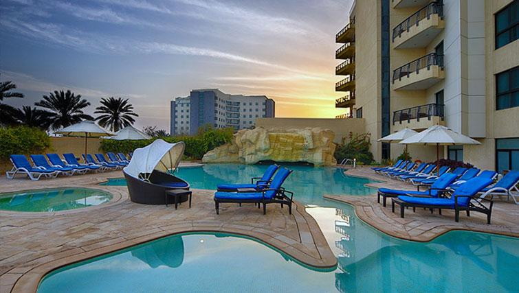 Pool at Park Hotel Apartments - Citybase Apartments