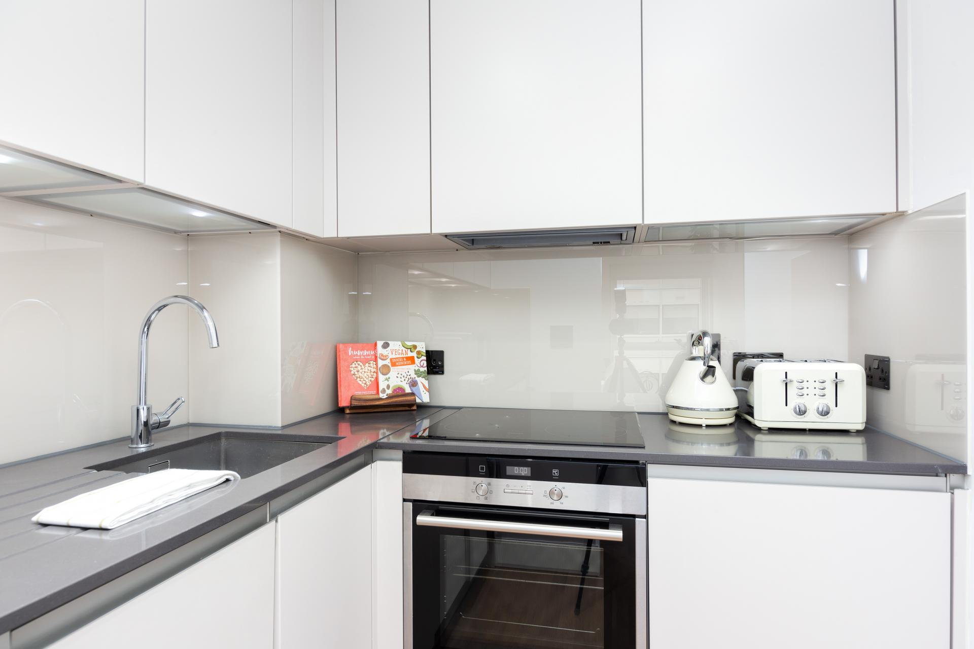 Kitchen at One Commercial Street - Citybase Apartments