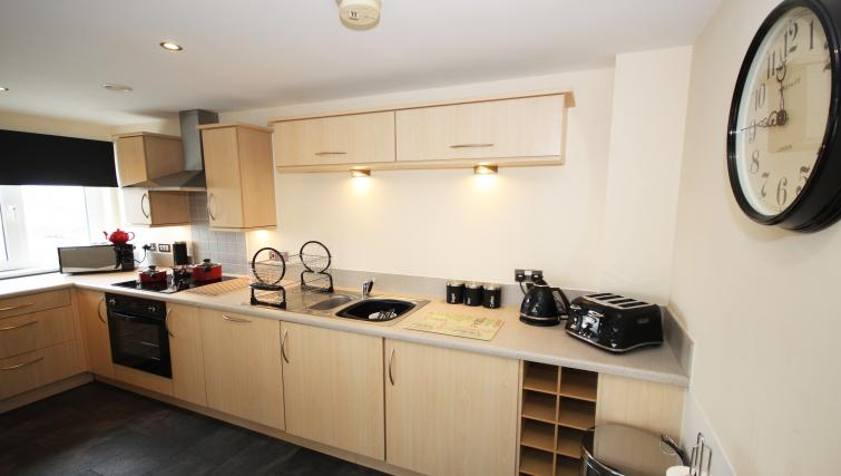 Kitchen at The Bar Apartment - Citybase Apartments